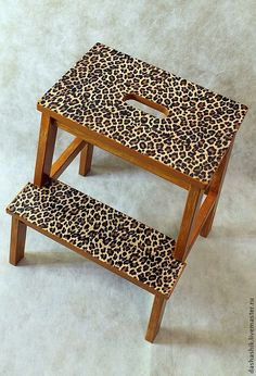 "Табурет-лестница ""Леопард"". Автлр - Дизайн мебели (Decormebel)"