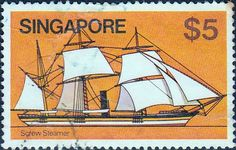 Singapore 1980 Ships SG 375 Fine Used SG 375 Scott  347