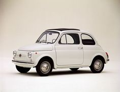 The Fiat 500 - Tag your #MadeInItaly and #HeritageFinds with these hashtags for a chance to be featured on our board!