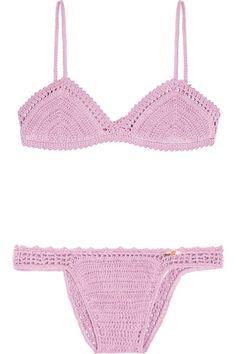 lilac crochet bikini!