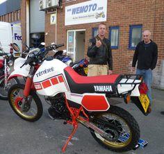 Yamaha Xt 600, Yamaha Bikes, Kawasaki Motorcycles, Scrambler, Motorbikes, Offroad, Books, Motorcycles, Voyage