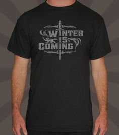 Be king of winter with this stylish t-shirt.   • Professionally printed silkscreen  • High-quality, 100% cotton tee.  • Ships within 5 business days  • Designed and printed in the USA