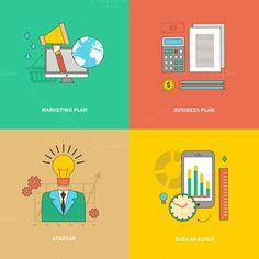 Data Analysis, Business Marketing by robuart on Creative Market