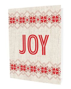 Homespun Joy by Night Owl Paper Goods - $14.50