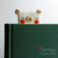 "143 Likes, 5 Comments - مری نمدی (@felt.mary) on Instagram: ""Code ig121 Bookmark . . . I'm still in love with this polar bear! از کارای قدیمی فیس بوک مری نمدی.…"""