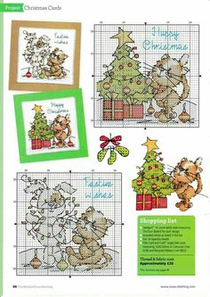Thrilling Designing Your Own Cross Stitch Embroidery Patterns Ideas. Exhilarating Designing Your Own Cross Stitch Embroidery Patterns Ideas. Xmas Cross Stitch, Cross Stitch Christmas Ornaments, Cross Stitch Cards, Christmas Embroidery, Christmas Cross, Cat Cross Stitches, Counted Cross Stitch Patterns, Cross Stitch Designs, Cross Stitching