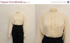 CLEARANCE Vintage Blouse Rhonda Lee by 2sweet4wordsVintage on Etsy, $11.25