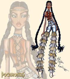 Rocking Fashion Pocahontas