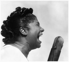 Mahalia Jackson is one of our favorite singers!