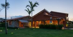 casa rústica com varanda