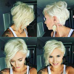 20 Beautiful New Short Cups to Insulate You Haircuts Plus, Medium Curly Haircuts, Wavy Bob Hairstyles, Pretty Hairstyles, Curly Hair Cuts, Short Hair Cuts, Short Hair Styles, Sassy Hair, Pixie Cuts