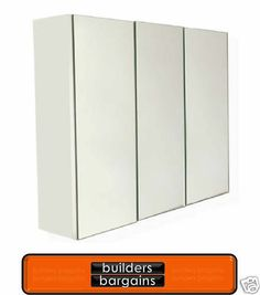 bunnings $224 -Award 620 x 1200 x 160mm Supreme 3 Door Bathroom Cabinet I/N 4843118 | Bunnings Warehouse | Ensuite | Pinterest | Bathroom cabinets ...  sc 1 st  Pinterest & bunnings $224 -Award 620 x 1200 x 160mm Supreme 3 Door Bathroom ...