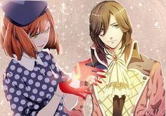Reiji and Haruka