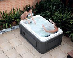 Hs-spa291 mini spa ao ar livre. / Mini ao ar livre banheira de hidromassagem / spa banheira para 2 pessoas
