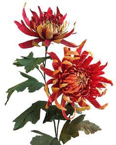 #paperflowers #paperchrysanthemums #chrysanthemums #tompearcechrysanthemum