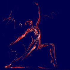 dance, soviet style, body, red lines, blue back Blue Back, Darth Vader, Dance, Abstract, Red, Style, Dancing, Summary, Swag