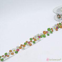 Ανοιξιάτικη κορδέλα με λουλούδια