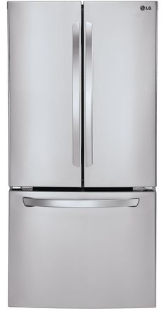 LG - LFC24770ST - Bottom Freezer Are door bins moveable?  Overall Height (inches)	69.88 Width (inches)	32.75 Overall Depth (inches)	35.5