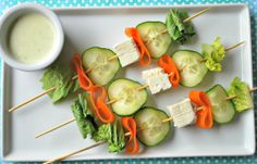 SALAD ON A STICK - LOVE THESE