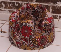 Bumbo baby seat cover pattern