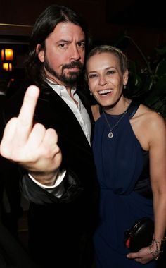 Dave Grohl & Chelsea Handler
