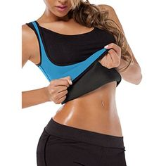 420a5c3b93f8b Plus Size Men Women Neoprene Ultra Sweat Vest Waist Training Sport Hot  Shapers Corset
