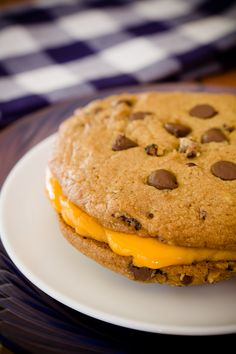 Chocolate Chip Cookie Grilled Cheese Sandwiches ~ Cupcake Project