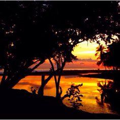 Jaco beach sunset, April 20, 2012