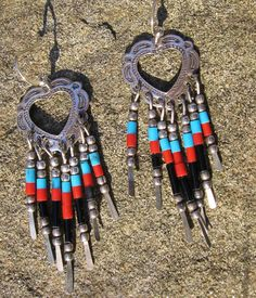 Hey, I found this really awesome Etsy listing at https://www.etsy.com/listing/217707545/native-american-style-earrings-silver