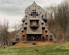 Dacha/Staff Building, Gesundheit! Institute, Hillsboro, West Virginiadacha. Utopian Community.