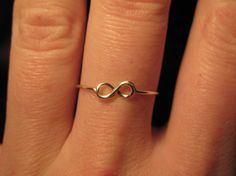Check out our infinity knot ring selection for the very best in unique or custom, handmade pieces from our rings shops. Infinity Knot Ring, Infinity Tattoos, Infinity Symbol, Loc Jewelry, Etsy Jewelry, Wire Jewelry, Jewellery, Skull Tattoo Design, Dragon Tattoo Designs