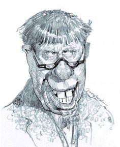 Jerry Lewis, illustration of Jan Op DeBeeck