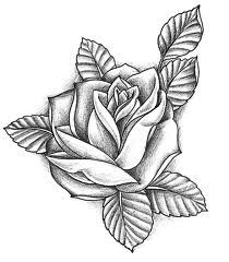 rose tattoo template - I don't know what it is about rose tattoos but I think they're amazing!