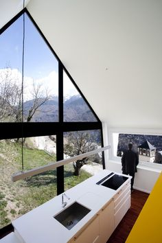 I'd love a view like this.    Pleased in the Pyrenees: A house by Cadaval & Solà-Morales
