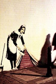 Graffiti art - Banksy