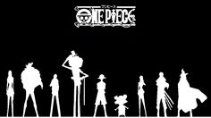 One Piece Black and White HD Wallpaper