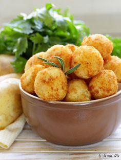 Recette : Croquettes de pommes de terre bio