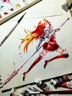 Lancefaire Cordelia ~ ✧ Watercolour on 200gsm                                                                                                                                                                                 More