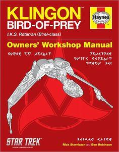 Haynes Bird of Prey Repair Manual GOT TO HAVE THIS!!!