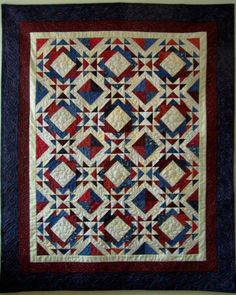 Quilt patriotic Hidden Glorry reserved for Carrie by marytequilts