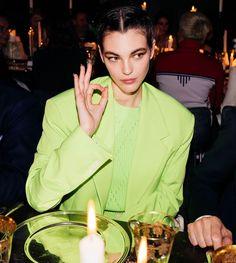 Vittoria Ceretti wearing Versace for Vogue Italia High Fashion Trends, Fashion Models, Girl Face, Woman Face, Italian Fashion, Timeless Fashion, Famous Girls, Beautiful Gorgeous, Beautiful Women