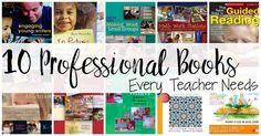 Teacher Professional Development books for kindergarten.  For related pins and resources follow https://www.pinterest.com/angelajuvic/best-teaching-ideas-resources/
