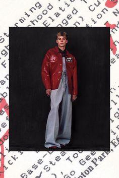 Martine Rose Fall 2014 Menswear Fashion Show