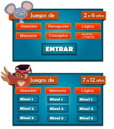 Ejercicios y juegos de estimulacion temprana para niños Infantil y Primaria