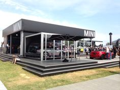Temporary Event Structure Losberger Kubo for MINI