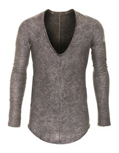 Mohair Inlay Dust Grey by JadesFashion