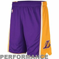 adidas Los Angeles Lakers NBA Authentic Performance Shorts - Purple La  Lakers Jersey a4b76ee8b