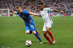"""Raheem Sterling admits build-up to Euro 2016 was """"most difficult time"""" of his career - The Manchester City man has been given a new lease of life by Pep Guardiola's arrival at the Etihad but has opened up about his struggles in the summer England Euro 2016, Raheem Sterling, Pep Guardiola, Manchester City, Iceland, Lions, Running, Cl, Sports"""