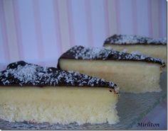 Gâteau à la noix de coco façon Bounty