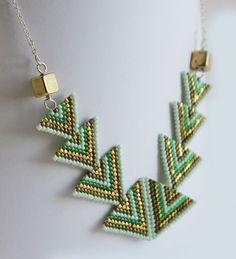 Delica Beaded Necklace